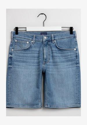 Jeansshorts - light blue vintage