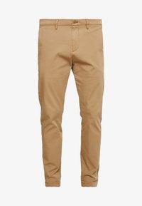 DOCKERS - SMART FLEX TAPERED - Pantalones chinos - ermine - 4