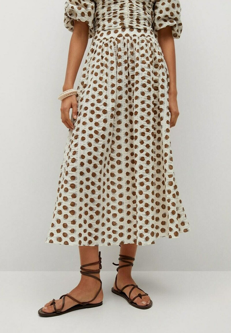 Mango - A-line skirt - offwhite