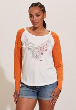 KATHRYN - Long sleeved top - vintage orange