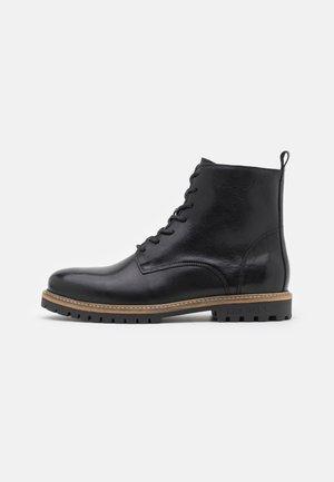 TROY COMBAT BOOT - Veterboots - black