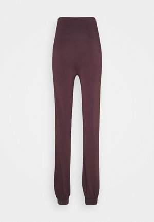 LONG PANTS ROLL DOWN - Trainingsbroek - bordeaux