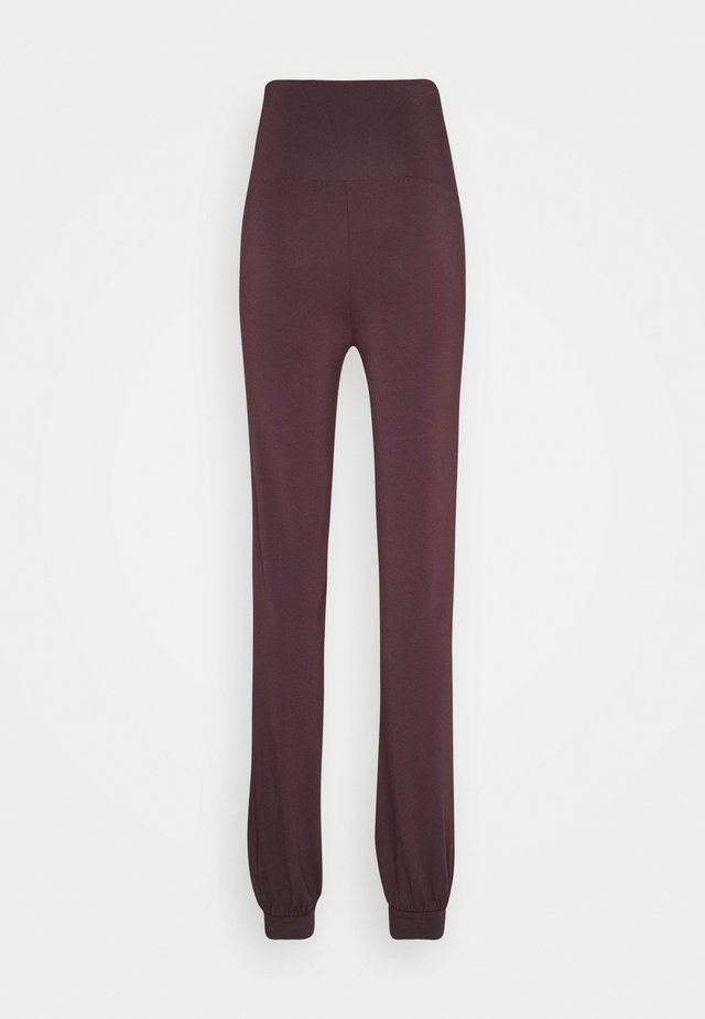 LONG PANTS ROLL DOWN - Pantalon de survêtement - bordeaux