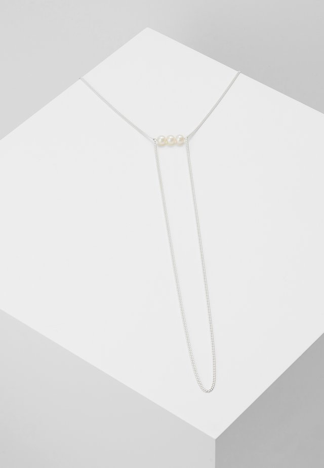 IRIS NECKLACE - Halsband - silver-coloured