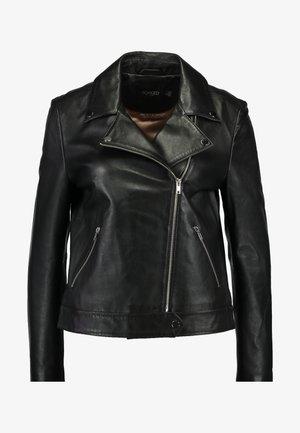 MAEVE JACKET - Leather jacket - black