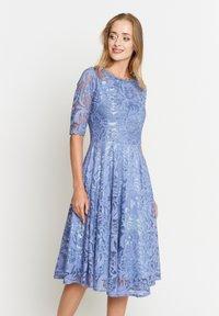Madam-T - GLORIA - Day dress - indigo - 5