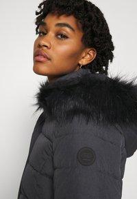 ONLY - Winter coat - dark grey melange - 5