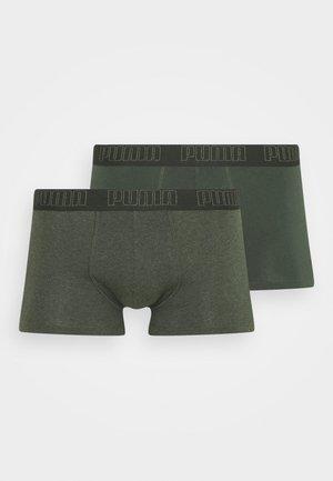 BASIC TRUNK 2 PACK - Bokserit - green
