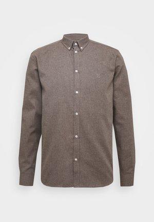 DESERT - Shirt - brown melange