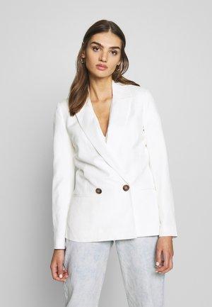 DORA - Short coat - porcelain