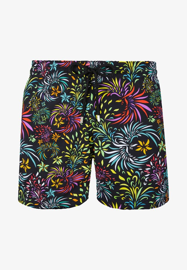 EVENING BIRDS - Swimming shorts - black