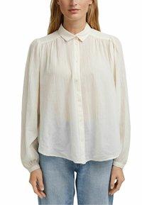 Esprit - Button-down blouse - off white - 3