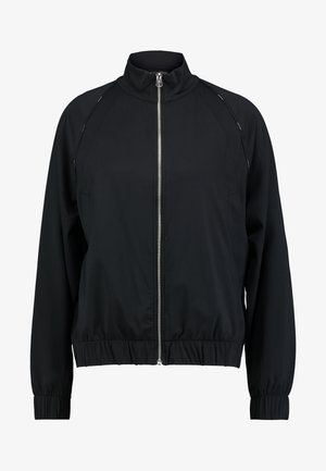 FUNNEL NECK ZIP THROUGH JACKET - Treningsjakke - black