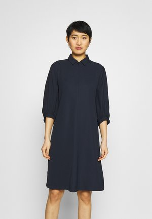 QEDRIK - Shirt dress - universe blue