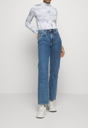 VOYAGE LOVED - Jeans Straight Leg - black