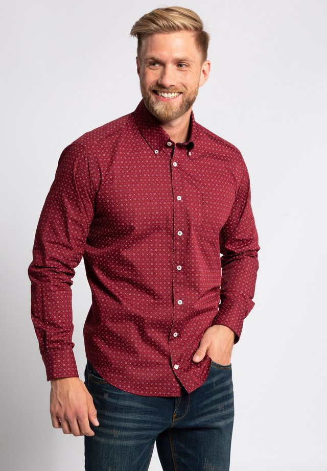 Shirt - weinrot
