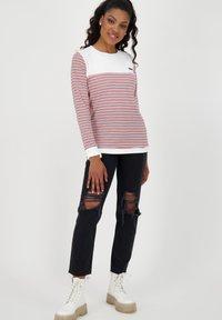 alife & kickin - LEONIE - Long sleeved top - white - 1