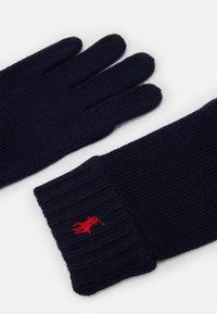 Polo Ralph Lauren - APPAREL ACCESSORIES GLOVE UNISEX - Gloves - navy - 2