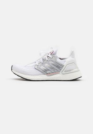 ULTRABOOST 20 DNA  - Zapatillas de running neutras - footwear white/silver metallic/frecan