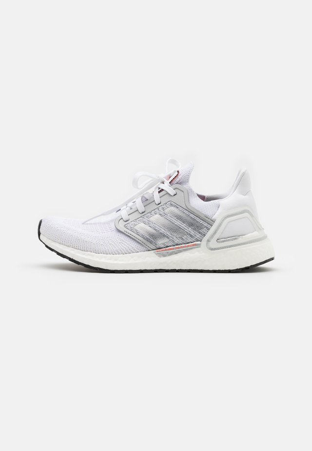 ULTRABOOST 20 DNA  - Neutrální běžecké boty - footwear white/silver metallic/frecan