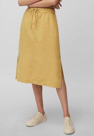 A-line skirt - sweet corn