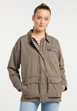 Summer jacket - helles schlamm