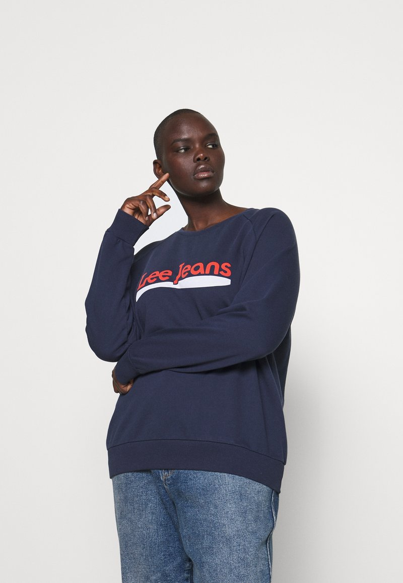 Lee Plus - CREW - Sweatshirt - dark navy