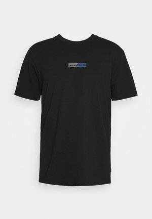 TROPE SPLIT TEE - Print T-shirt - black