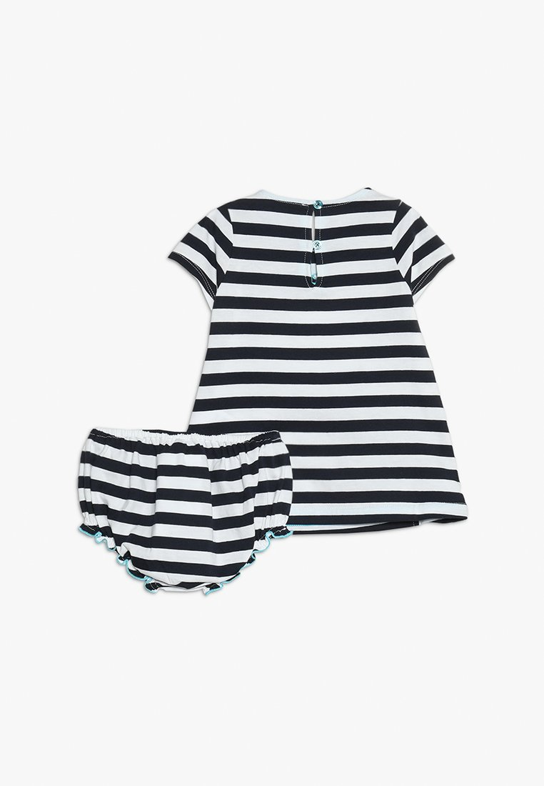 Emporio Armani Dress Set - Vestido Ligero Dark Blue/white