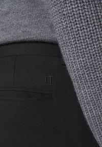 Les Deux - COMO SUIT PANTS - Trousers - black - 4