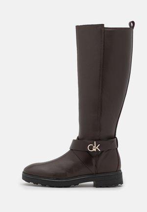KNEE BOOT  - Boots - dark brown