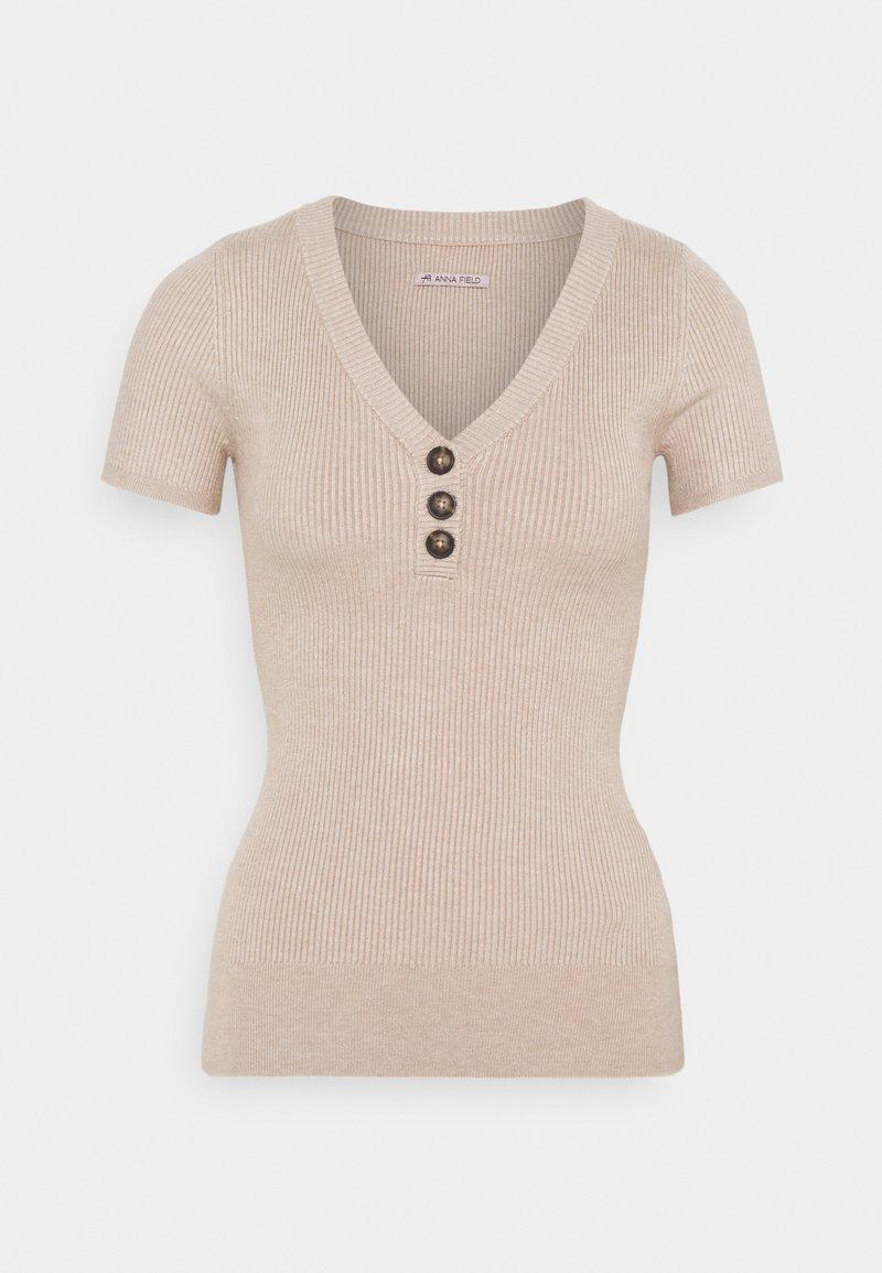 Anna Field - T-shirts - tan