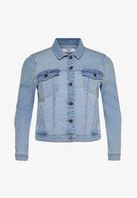 ONLY Carmakoma - Denim jacket - light blue denim - 5
