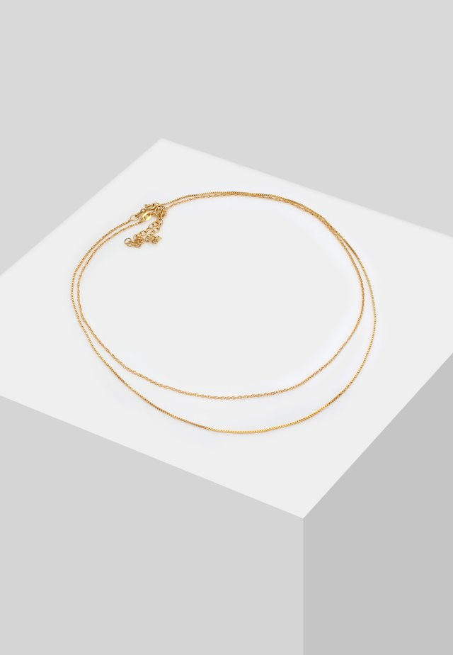 Ketting - gold-colpoured