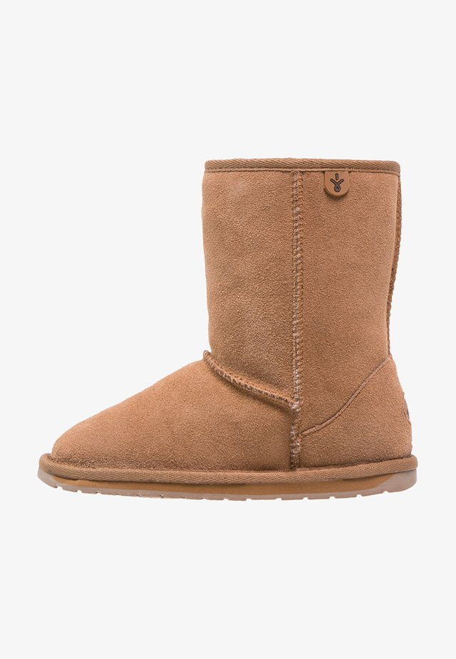 WALLABY  - Winter boots - chestnut