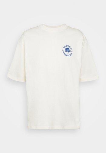 RANGER GARDEN CLUB TEE - Print T-shirt - ecru
