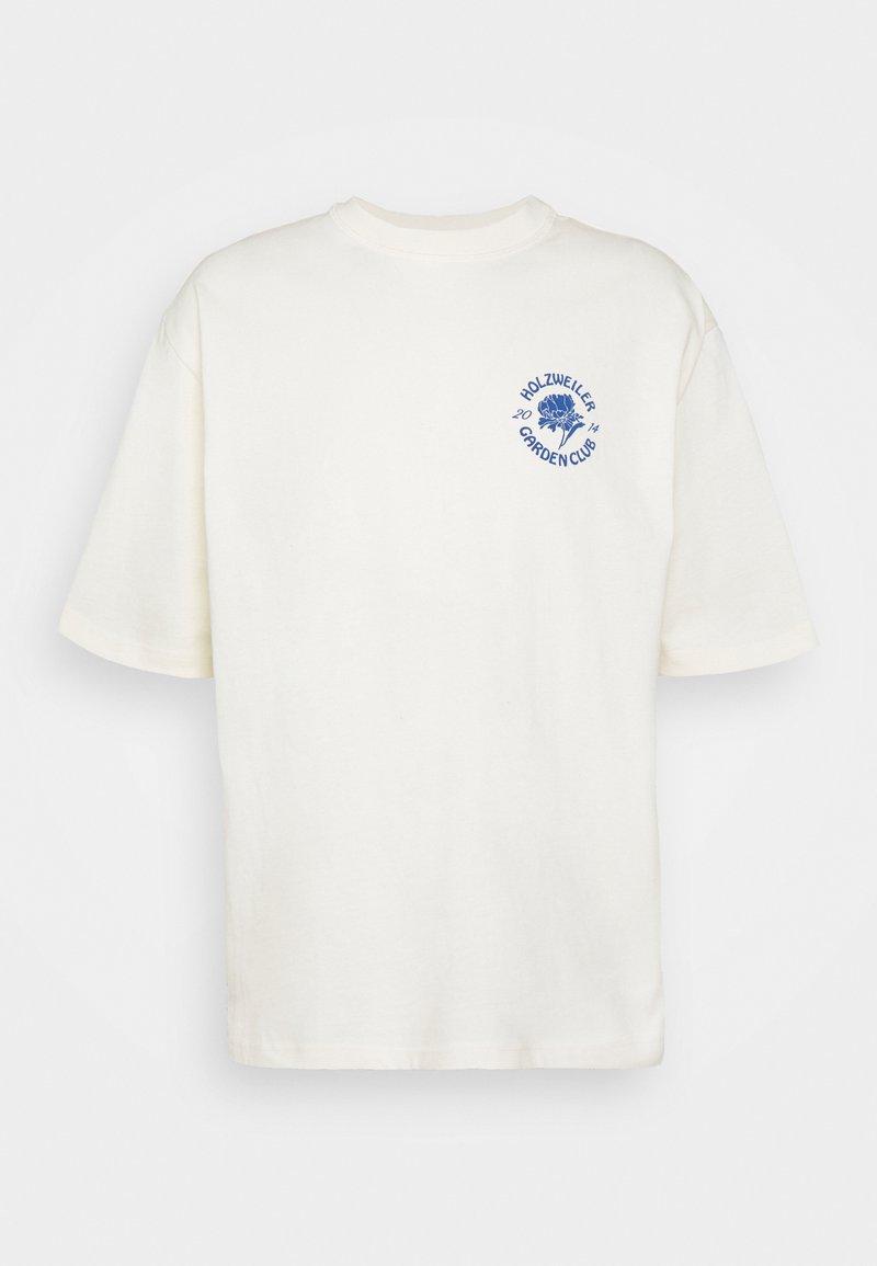 Holzweiler - RANGER GARDEN CLUB TEE - Print T-shirt - ecru