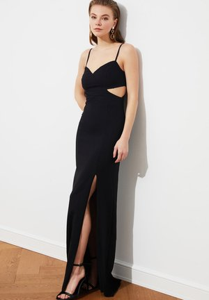 Maksi garuma kleita - black