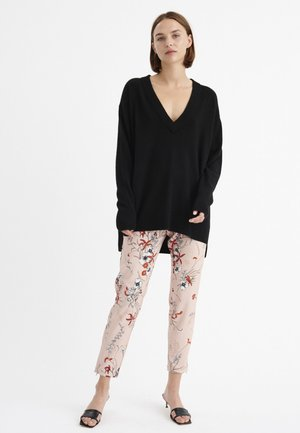 ABRIL NICA - Trousers - light pink
