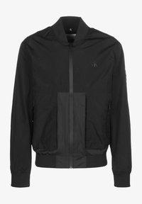 Calvin Klein Jeans - TECHNICAL - Bomber Jacket - ck black - 0