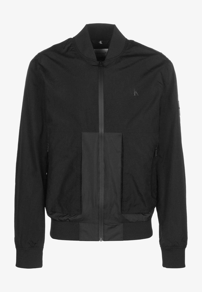 Calvin Klein Jeans - TECHNICAL - Bomber Jacket - ck black