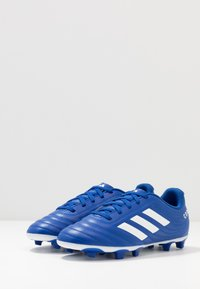 adidas Performance - COPA 20.4 FG - Moulded stud football boots - royal blue/footwear white - 3