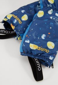 Maximo - MINI BOY - Mittens - blue - 3
