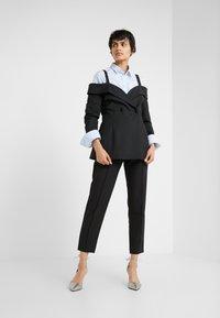 Bruuns Bazaar - RUBY PANT - Trousers - black - 1