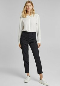 Esprit Collection - TOUCH ECO - Button-down blouse - off white - 4