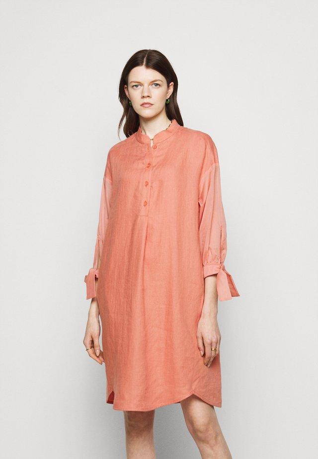 Shirt dress - dusk