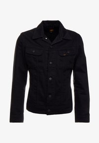 Lee - SLIM RIDER - Denim jacket - black rinse - 4