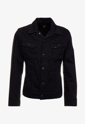 SLIM RIDER - Denim jacket - black rinse
