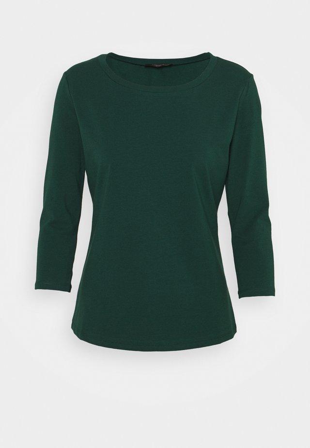 MULTIA - Langærmede T-shirts - dunkelgruen