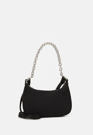 CHAIN HAND BAG - Kabelka - black